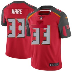 Nike Aca'Cedric Ware Tampa Bay Buccaneers Men's Limited Red Team Color Vapor Untouchable Jersey