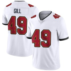 Nike Cam Gill Tampa Bay Buccaneers Men's Limited White Vapor Untouchable Jersey