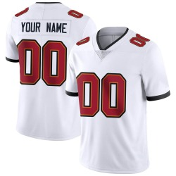Nike Custom Tampa Bay Buccaneers Youth Limited White Vapor Untouchable Jersey