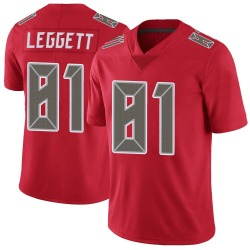 Nike Jordan Leggett Tampa Bay Buccaneers Youth Limited Red Color Rush Jersey